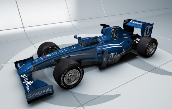 TMG Interactive F1 Car